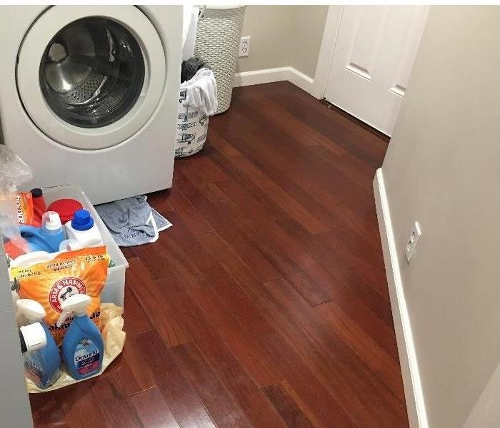 Laundry Room Caused a Water Damage in Menlo Park Salon Before