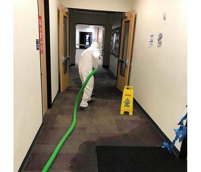Redwood City School Pipe Burst