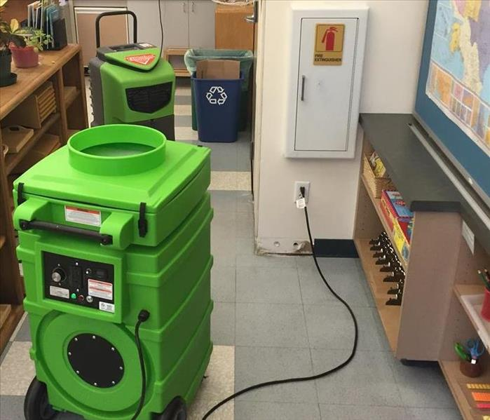 Water Damage in an Elementary School