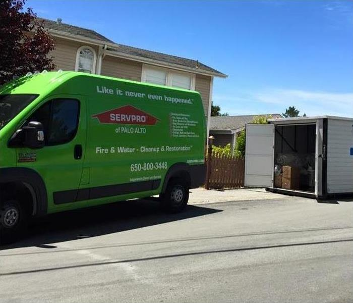 SERVPRO Packs You Out!